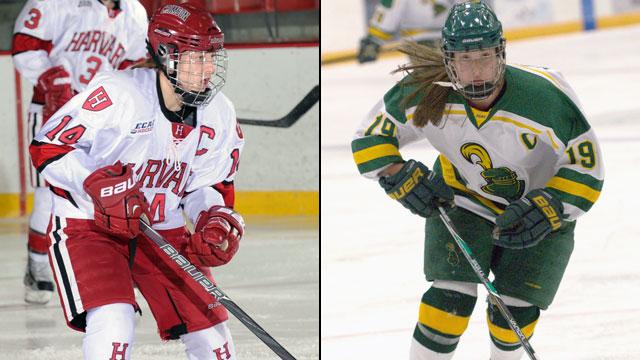 #3 Harvard vs. #2 Clarkson (Semifinal #2): ECAC Women's Hockey Championship