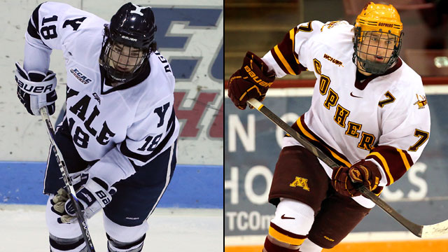 Yale vs. #2 Minnesota (West Regional Semifinal #1): 2013 NCAA Men's Hockey Championship