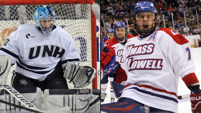 New Hampshire vs. #3 Massachusetts-Lowell (Northeast Regional Final): 2013 NCAA Men's Hockey Championship