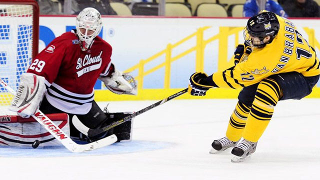 #4 St. Cloud State vs. #1 Quinnipiac (Semifinal #2): 2013 NCAA Men's Hockey Championship