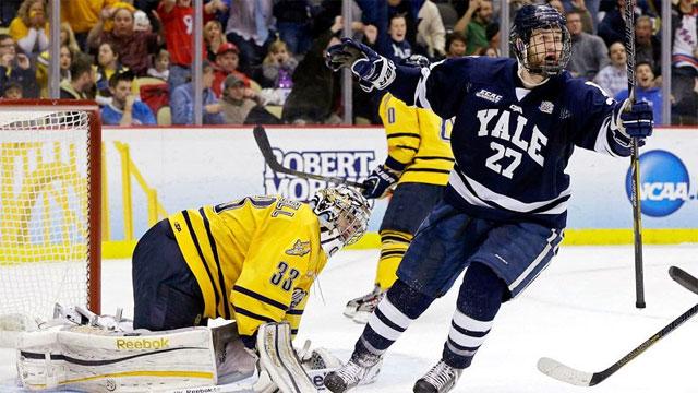 Yale vs. #1 Quinnipiac (Championship): 2013 NCAA Men's Hockey Championship