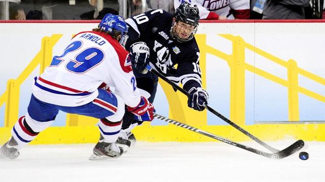 #4 Yale vs. #1 Massachusetts-Lowell (Semifinal #1): 2013 NCAA Men's Hockey Championship