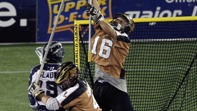 Rochester Rattlers vs. Chesapeake Bayhawks