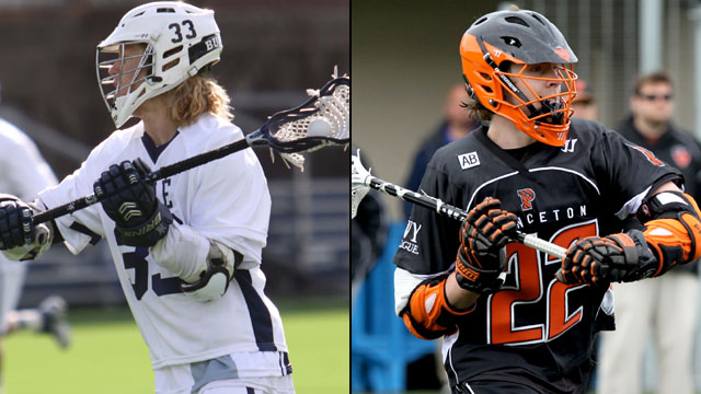 #3 Yale vs. #1 Princeton: Ivy League Men's Lacrosse Tournament