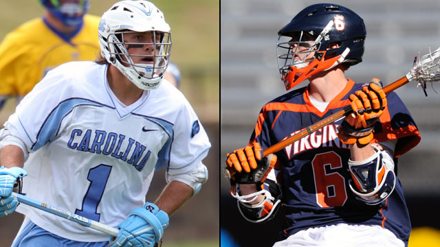 #3 North Carolina vs. #2 Virginia (Semifinal #2): ACC Men's Lacrosse Championship