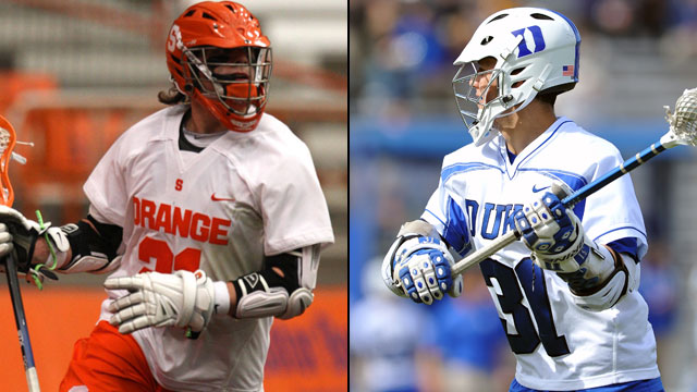 Syracuse vs. #3 Duke (First Round): NCAA Men's Lacrosse Championship