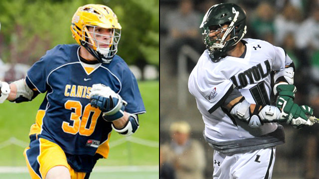 Canisius vs. #1 Loyola (MD) (First Round): NCAA Men's Lacrosse Championship