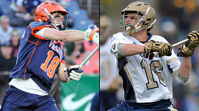 #5 Virginia vs. #4 Notre Dame (Quarterfinal #3): NCAA Men's Lacrosse Championship