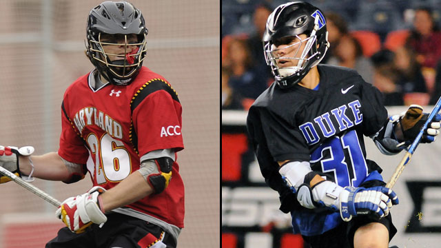 Maryland vs. #3 Duke (Semifinal #2): NCAA Men's Lacrosse Championship