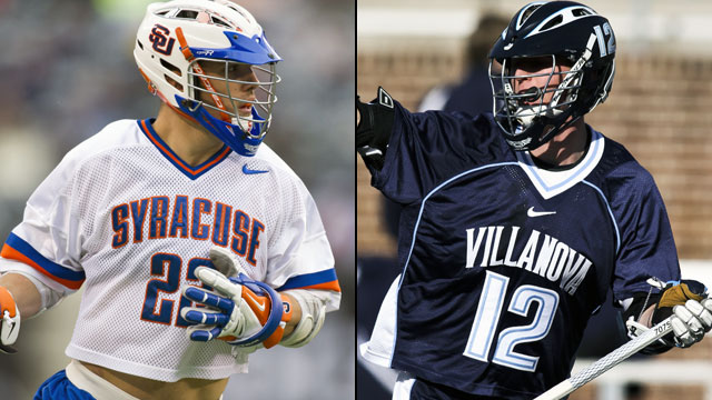 #3 Syracuse vs. #2 Villanova (Semifinal #2): Big East Men's Lacrosse Championship