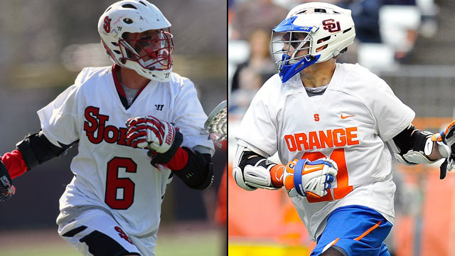 #4 St. John's vs. #3 Syracuse (Championship): Big East Men's Lacrosse Championship