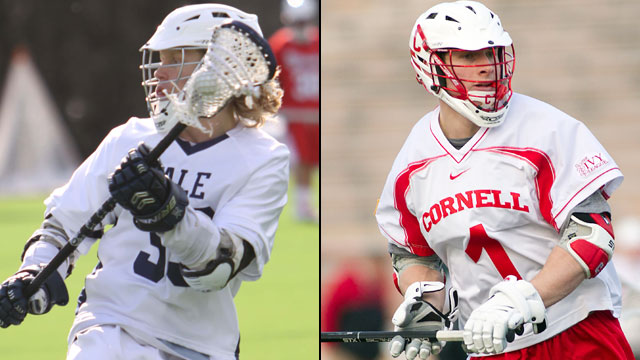 #3 Yale vs. #2 Cornell (Semifinal #1): Ivy League Men's Lacrosse Tournament