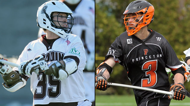 #4 Brown vs. #1 Princeton (Semifinal #2): Ivy League Men's Lacrosse Tournament