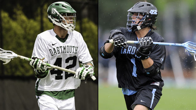 Dartmouth vs. #8 North Carolina