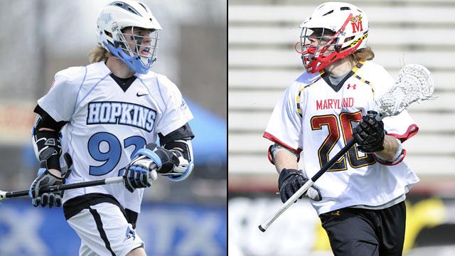 #15 Johns Hopkins vs. #1 Maryland