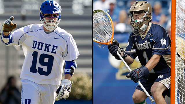 #7 Duke vs. #2 Notre Dame (Quarterfinal #4): 2013 NCAA Men's Lacrosse Championship 