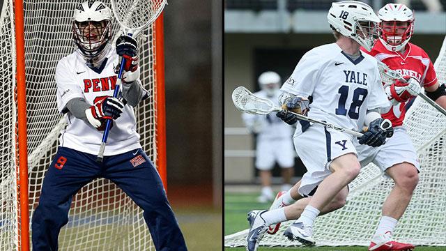 #3 Pennsylvania vs. #2 Yale (Semifinal #1): 2013 Ivy League Men's Lacrosse Tournament