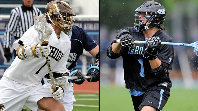 Lehigh vs. #5 North Carolina (First Round): 2013 NCAA Men's Lacrosse Championship