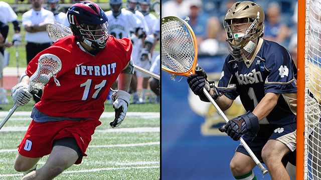 Detroit vs. #2 Notre Dame (First Round): 2013 NCAA Men's Lacrosse Championship