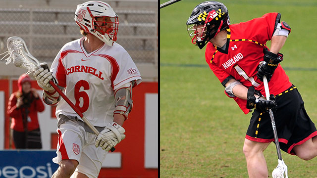 Cornell vs. #6 Maryland (First Round): 2013 NCAA Men's Lacrosse Championship
