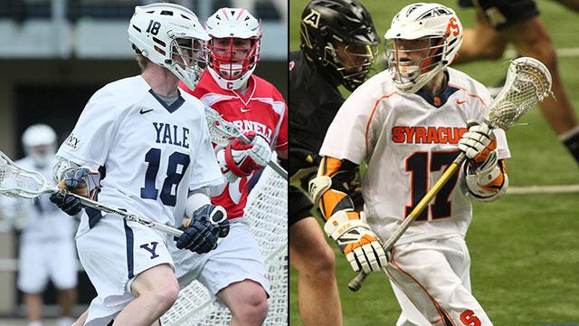Yale vs. #1 Syracuse (Quarterfinal #2): 2013 NCAA Men's Lacrosse Championship