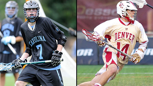 #5 North Carolina vs. #4 Denver (Quarterfinal #3): 2013 NCAA Men's Lacrosse Championship 
