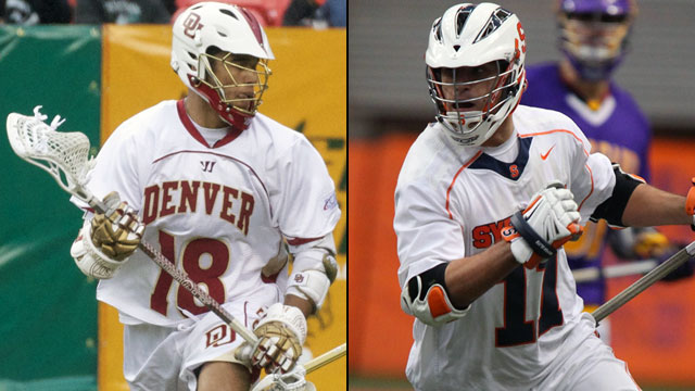 Denver vs. #1 Syracuse (Semifinal #2): 2013 NCAA Men's Lacrosse Championship