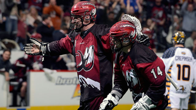Colorado Mammoth vs. Toronto Rock