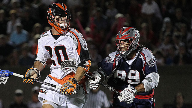 Denver Outlaws vs. Boston Cannons