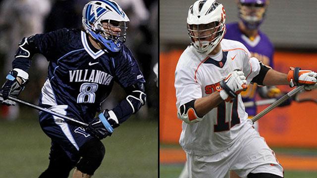#2 Syracuse vs. #1 Villanova: 2013 Big East Men's Lacrosse Championship