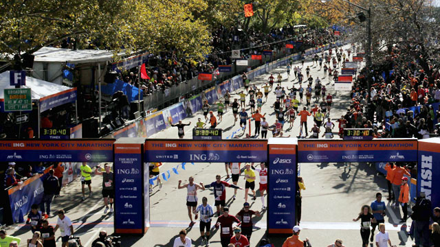 2013 ING New York City Marathon - Find Your Finish