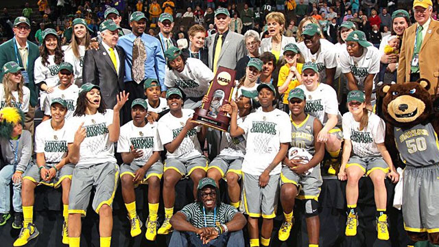 2012 NCAA Champions Baylor Lady Bears White House Visit