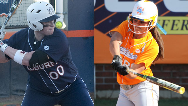 #7 Auburn vs. #2 Tennessee (Quarterfinal #2): SEC Softball Tournament
