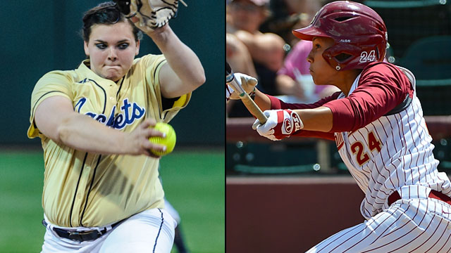 #3 Georgia Tech vs. #2 Florida State (Semifinal #1): ACC Softball Championship