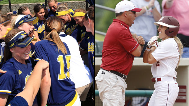 Michigan vs. #2 Alabama (Site 1 / Game 3): NCAA Softball Super Regionals