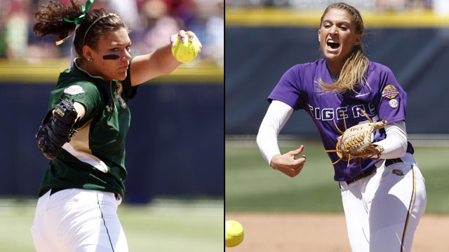 South Florida vs. LSU (Game #7): NCAA Women's College World Series