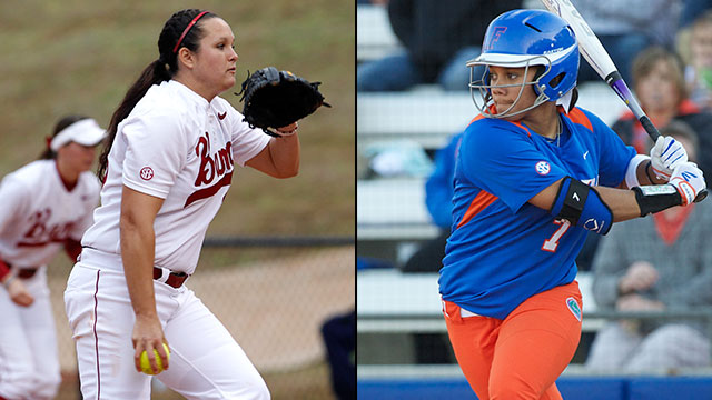 #8 Alabama vs. #1 Florida (Quarterfinal #1): 2013 SEC Softball Tournament