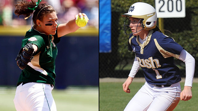 #2 South Florida vs. #1 Notre Dame: 2013 Big East Softball Championship