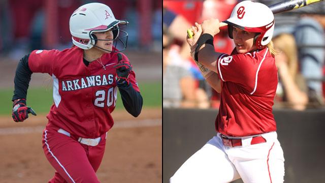 Arkansas vs. #1 Oklahoma (Site 3 / Game 3): 2013 NCAA Softball Regionals