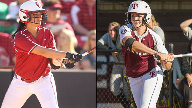 #1 Oklahoma vs. #16 Texas A&M (Site 1 / Game 2): 2013 NCAA Softball Super Regionals