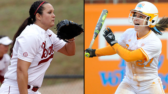 #10 Alabama vs. #7 Tennessee (Site 4/ Game 1): 2013 NCAA Softball Super Regionals