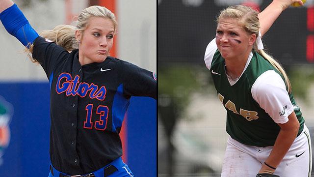 #2 Florida vs. UAB (Site 6 / Game 2): 2013 NCAA Softball Super Regionals