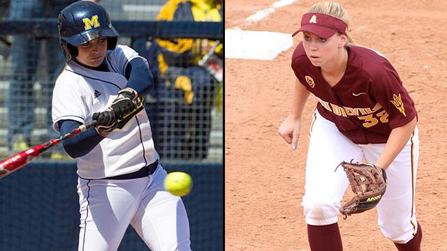 #8 Michigan vs. #5 Arizona State (Game #8): 2013 NCAA Women's College World Series