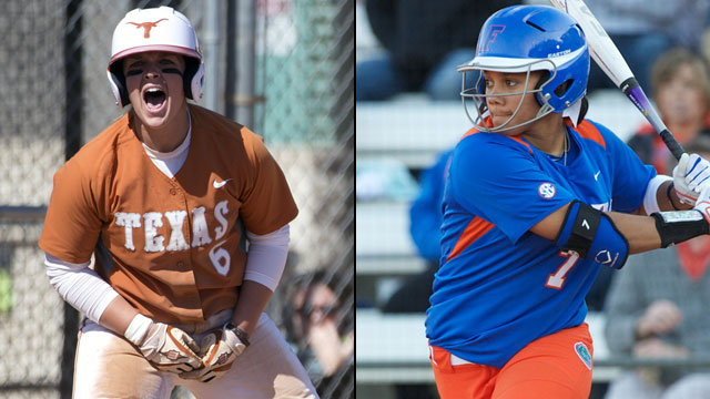 #4 Texas vs. #2 Florida (Game #9): 2013 NCAA Women's College World Series