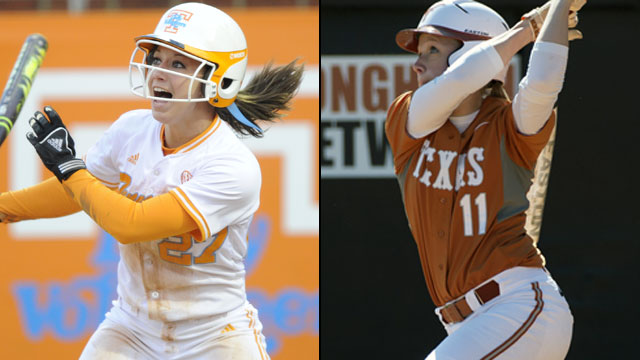 #7 Tennessee vs. #4 Texas (Game #11): 2013 NCAA Women's College World Series