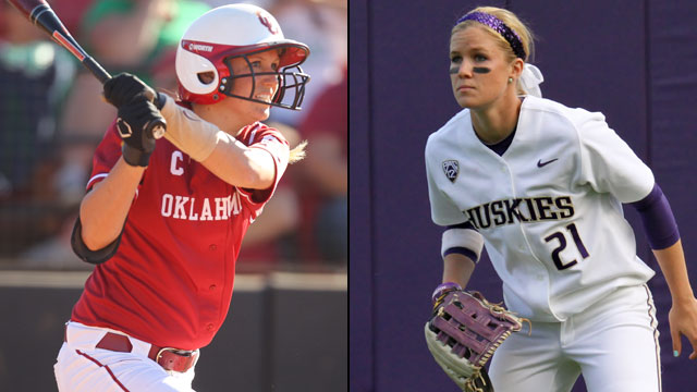 #1 Oklahoma vs. #11 Washington (Game #12): 2013 NCAA Women's College World Series