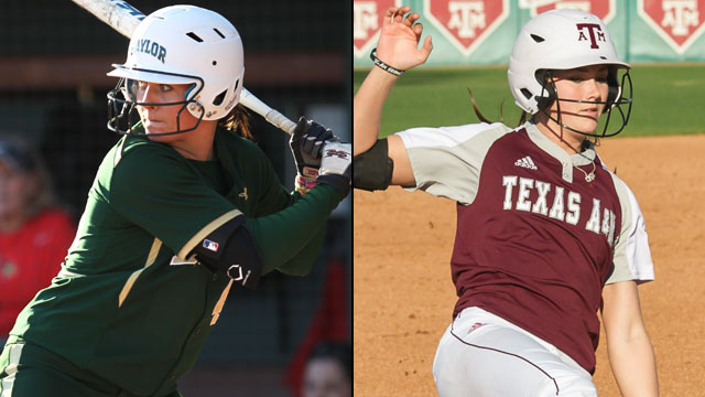 Baylor vs. #16 Texas A&M (Site 1 / Game 7): 2013 NCAA Softball Regionals