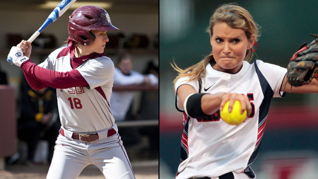 #13 South Alabama vs. Florida State (Site 6 / Game 6): 2013 NCAA Softball Regionals