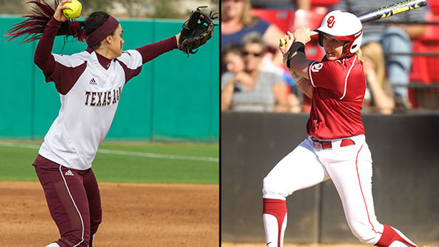 #20 Texas A&M vs. #1 Oklahoma (Site 1 / Game 3): 2013 NCAA Softball Super Regionals