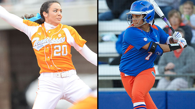 #7 Tennessee vs. #2 Florida (Game #2): 2013 NCAA Women's College World Series